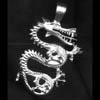 Electrum Dragon Pendant